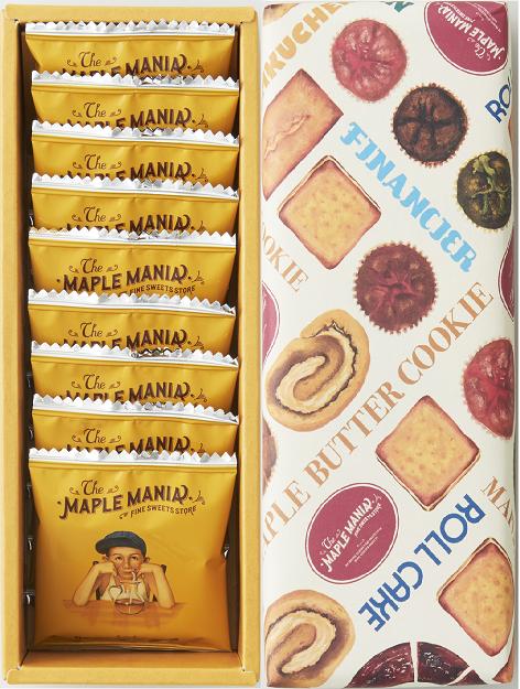メープルバタークッキー9枚